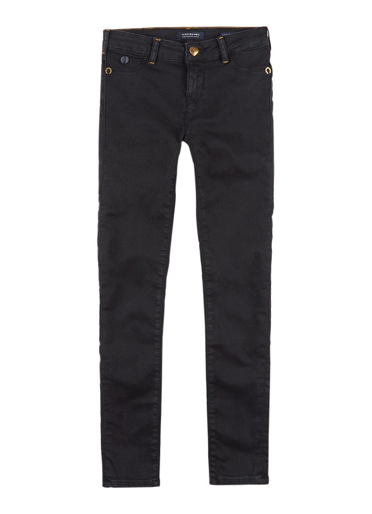 Scotch R'Belle La Milou super skinny fit jeans met donkere wassing