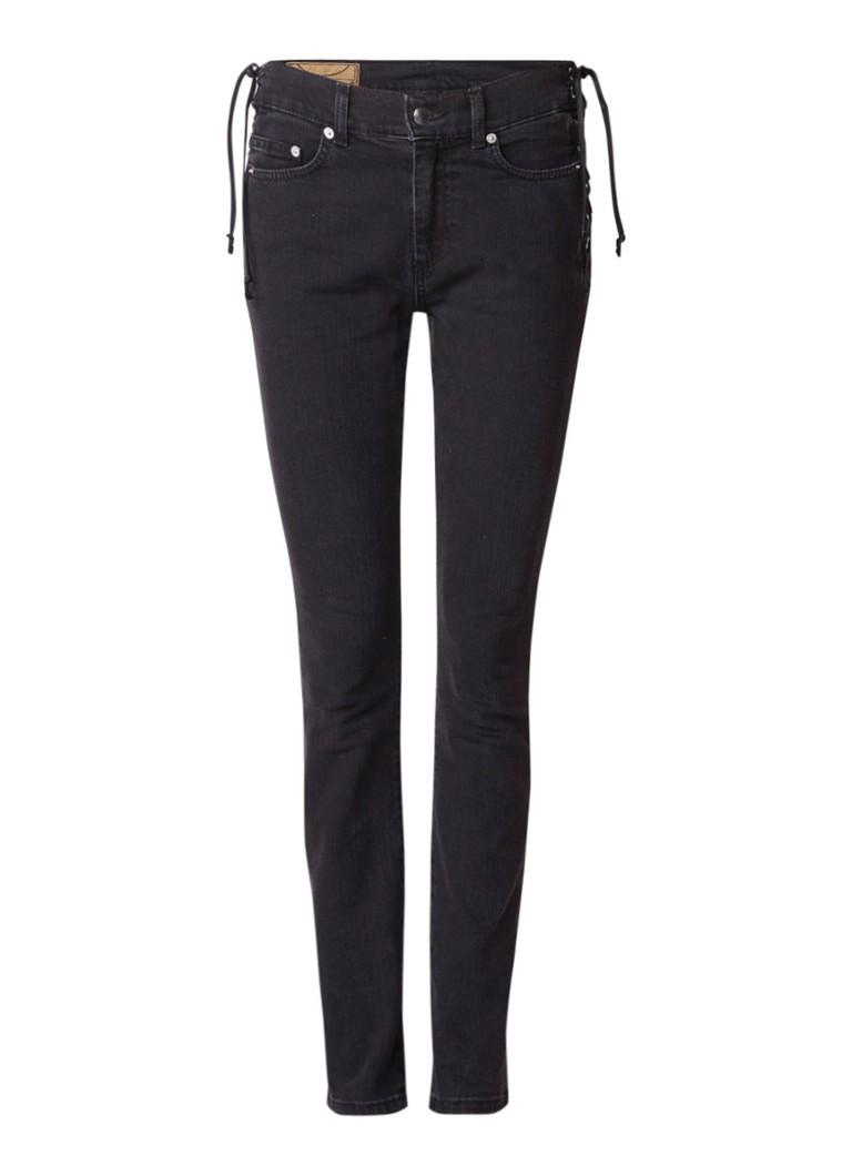 McQ Alexander McQueen Skinny fit jeans met rijgdetail