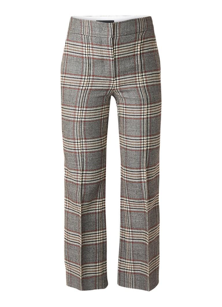 Joseph Ridge Chevron 7/8 pantalon met ruitdessin