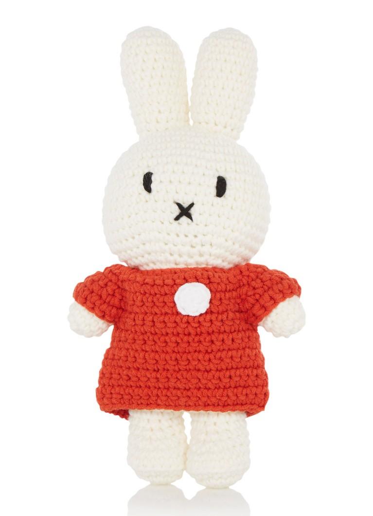 Just Dutch Nijntje handmade en haar rode jurk