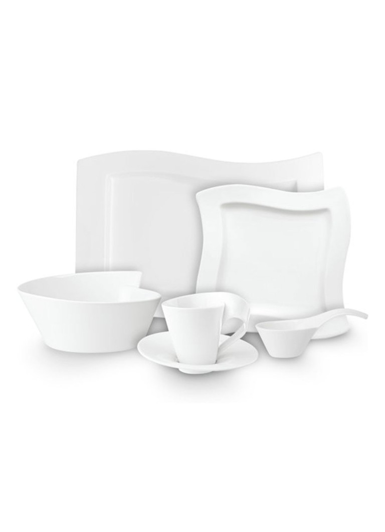 Villeroy  and  Boch New Wave dinnerset 12-delig