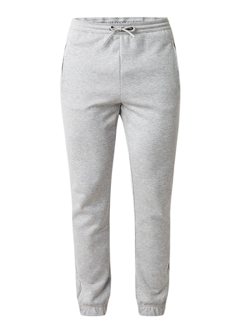 HUGO BOSS Hadiko gemeleerde tapered fit joggingbroek