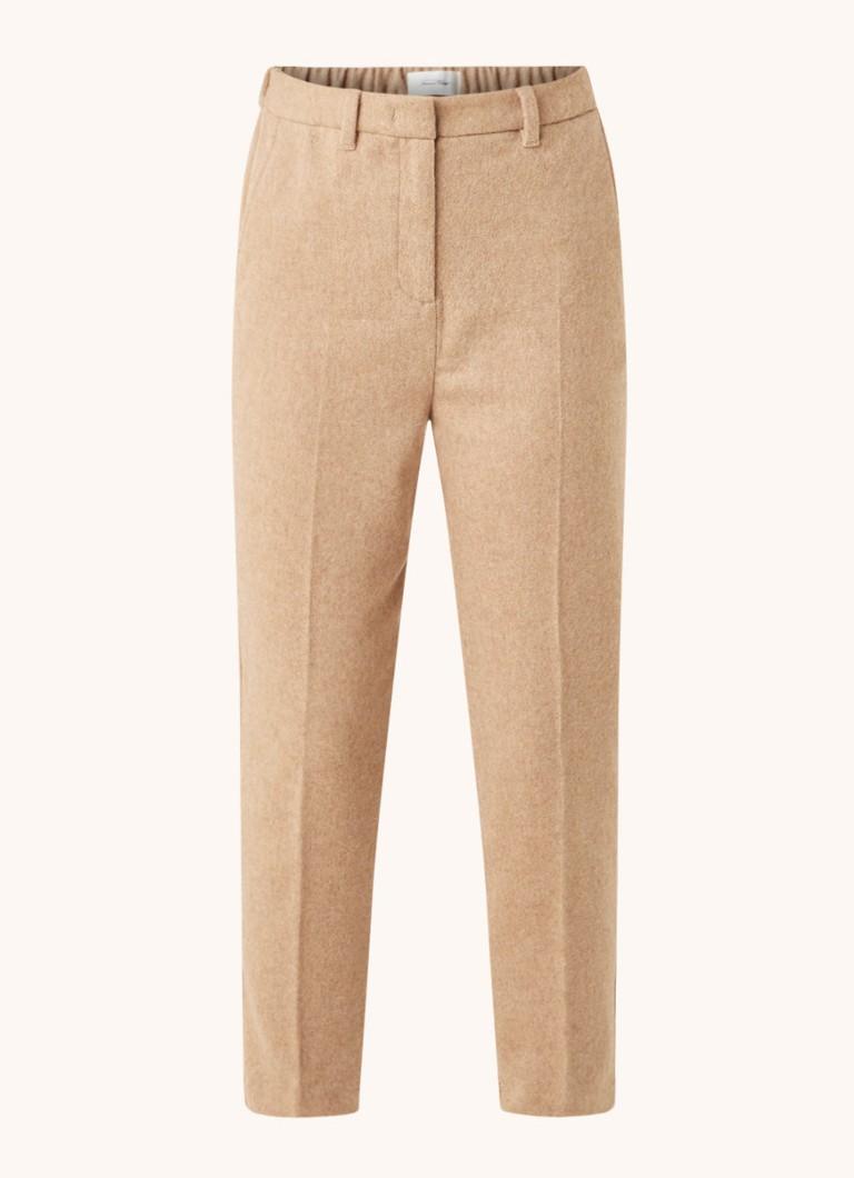 Cerech high waist tapered fit pantalon in wolblend