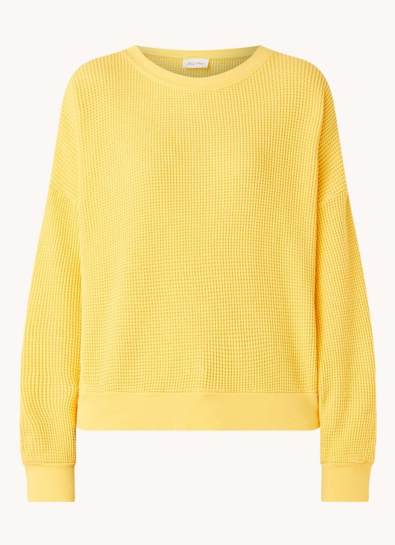 BowiLove sweater met structuur