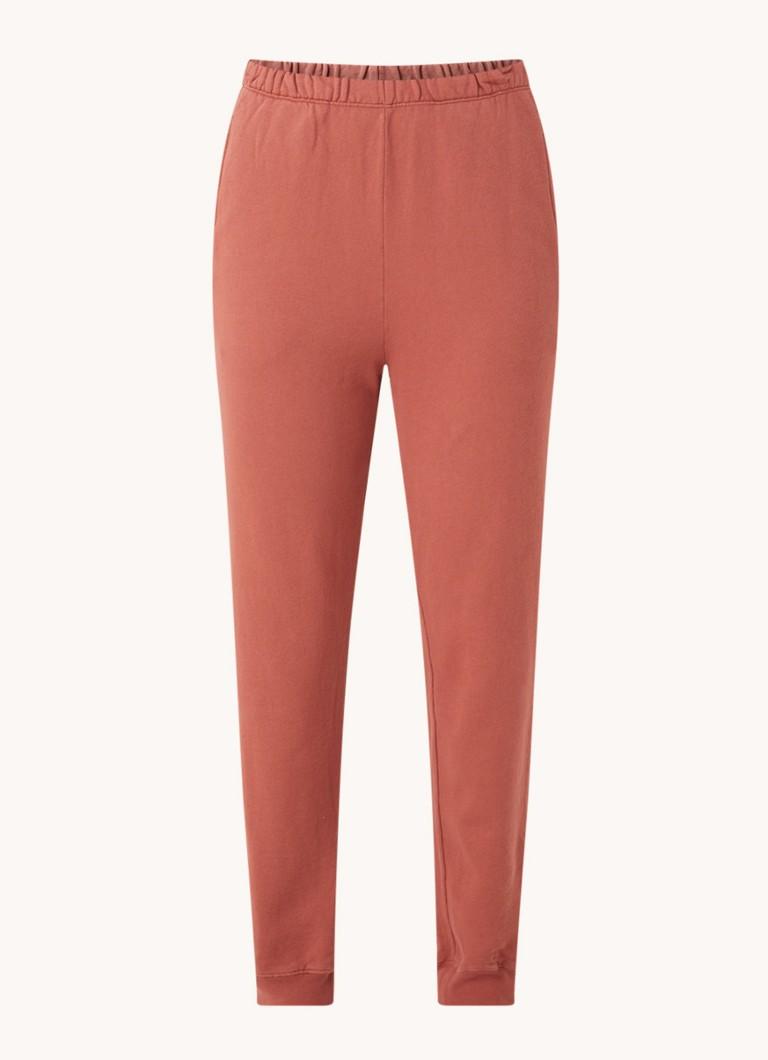 Feryway high waist tapered fit cropped joggingbroek