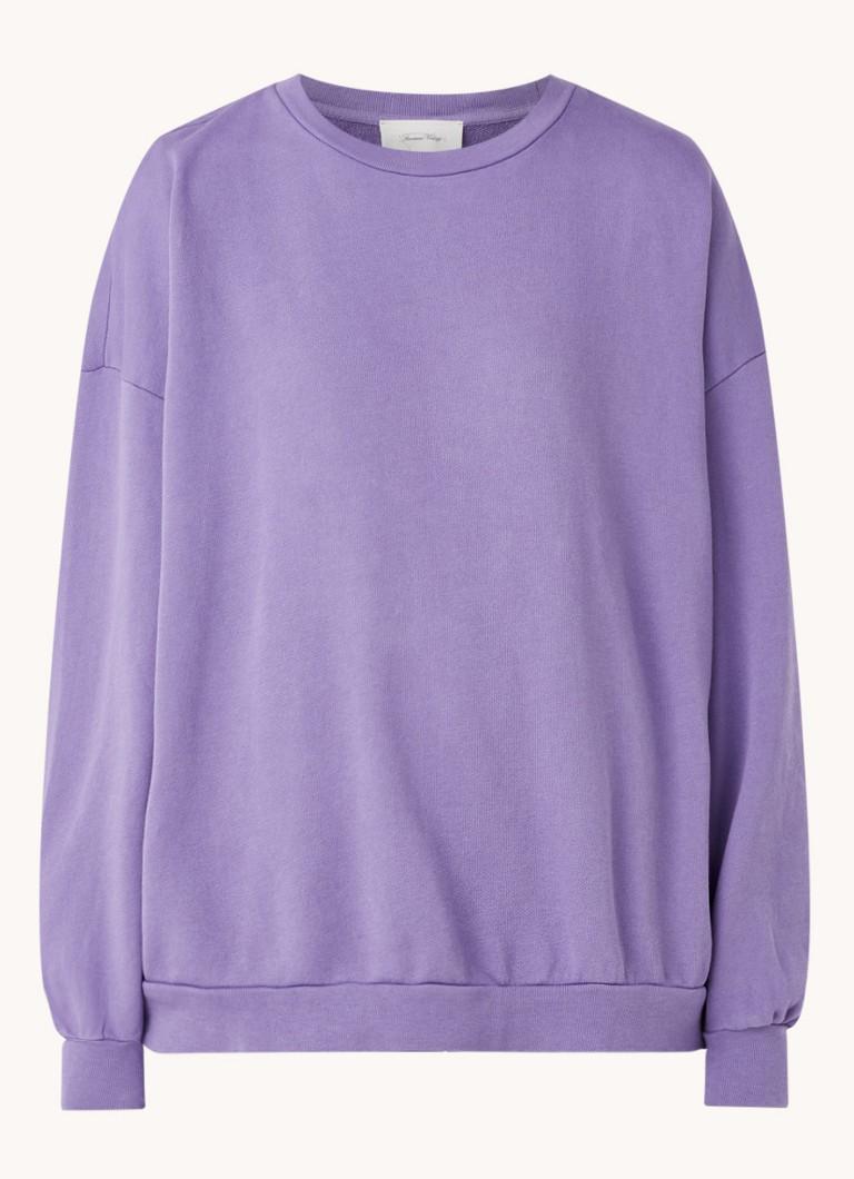 Feryway oversized sweater met ronde hals
