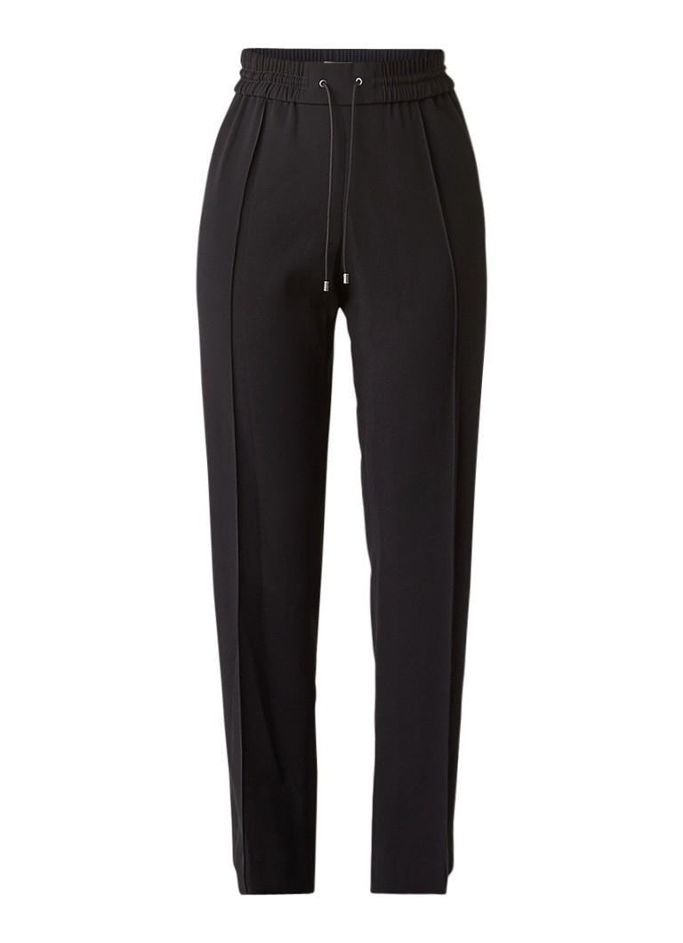 KENZO Track pants van crêpe met contrastbies