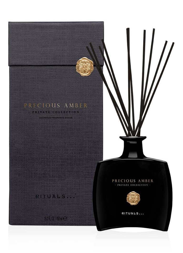 Image of Rituals Precious Amber Luxury geurstokjes 450 ml
