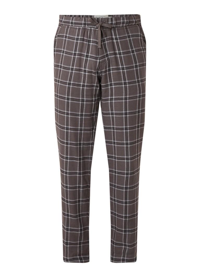 UGG Pyjamabroek van katoen met ruitdessin