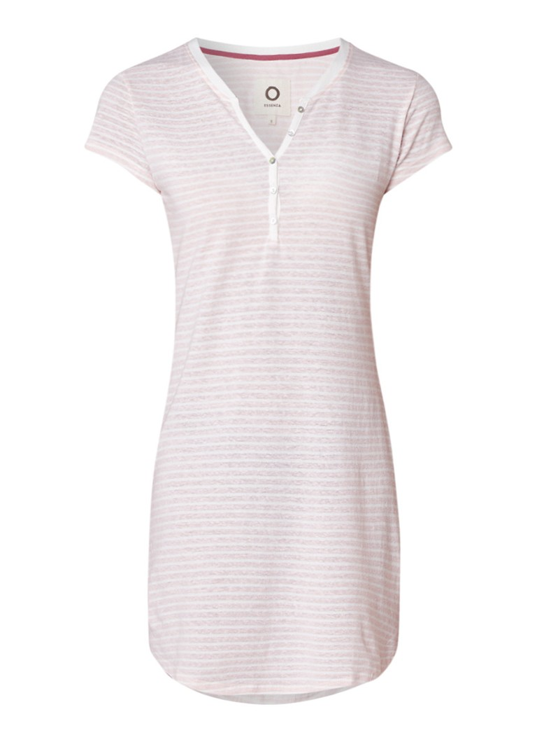 Essenza Lois nachthemd met streepdessin