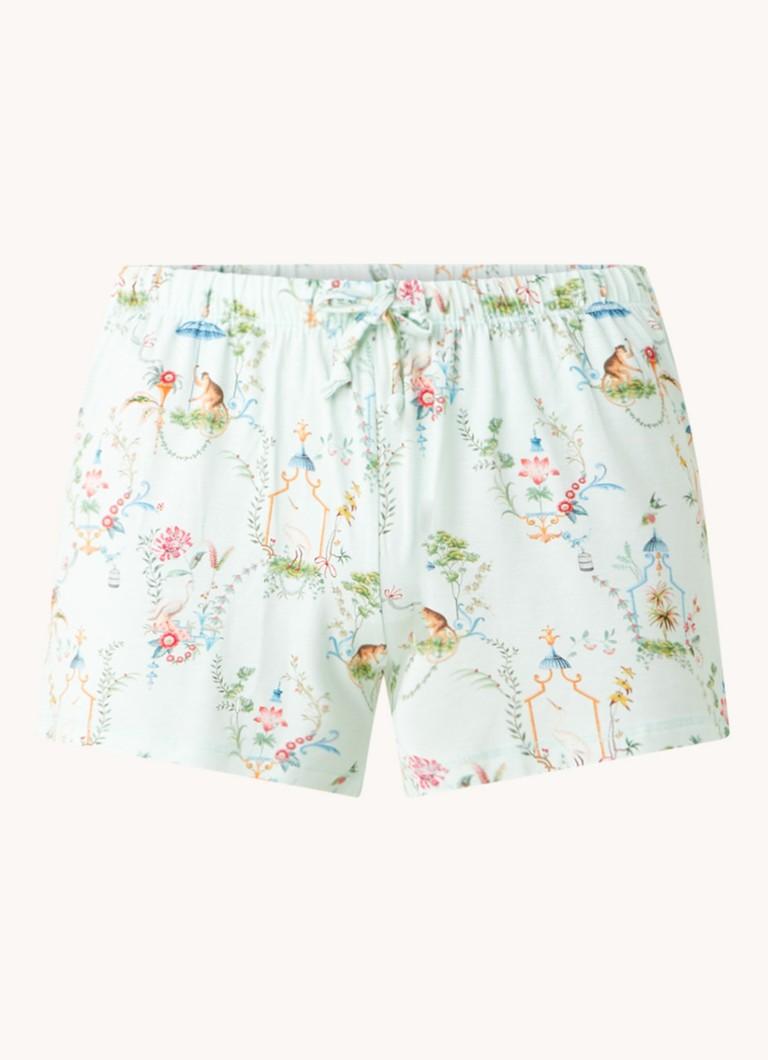 Bonna Singerie pyjamashorts met print