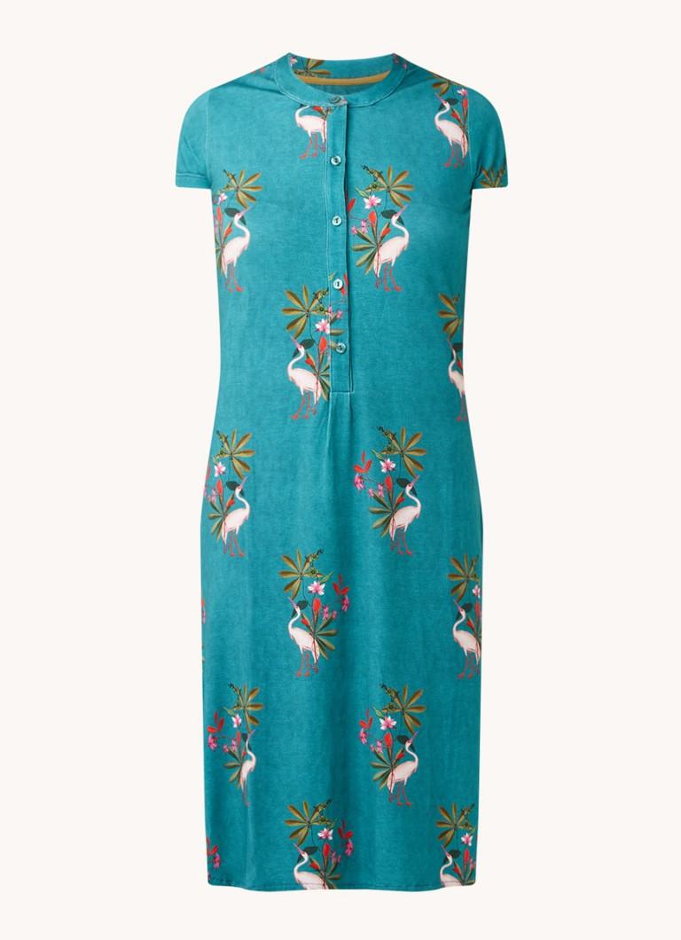Dalia nachthemd met print
