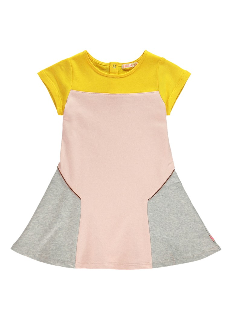 Billieblush A-lijn jurk met colour blocking en metallic details