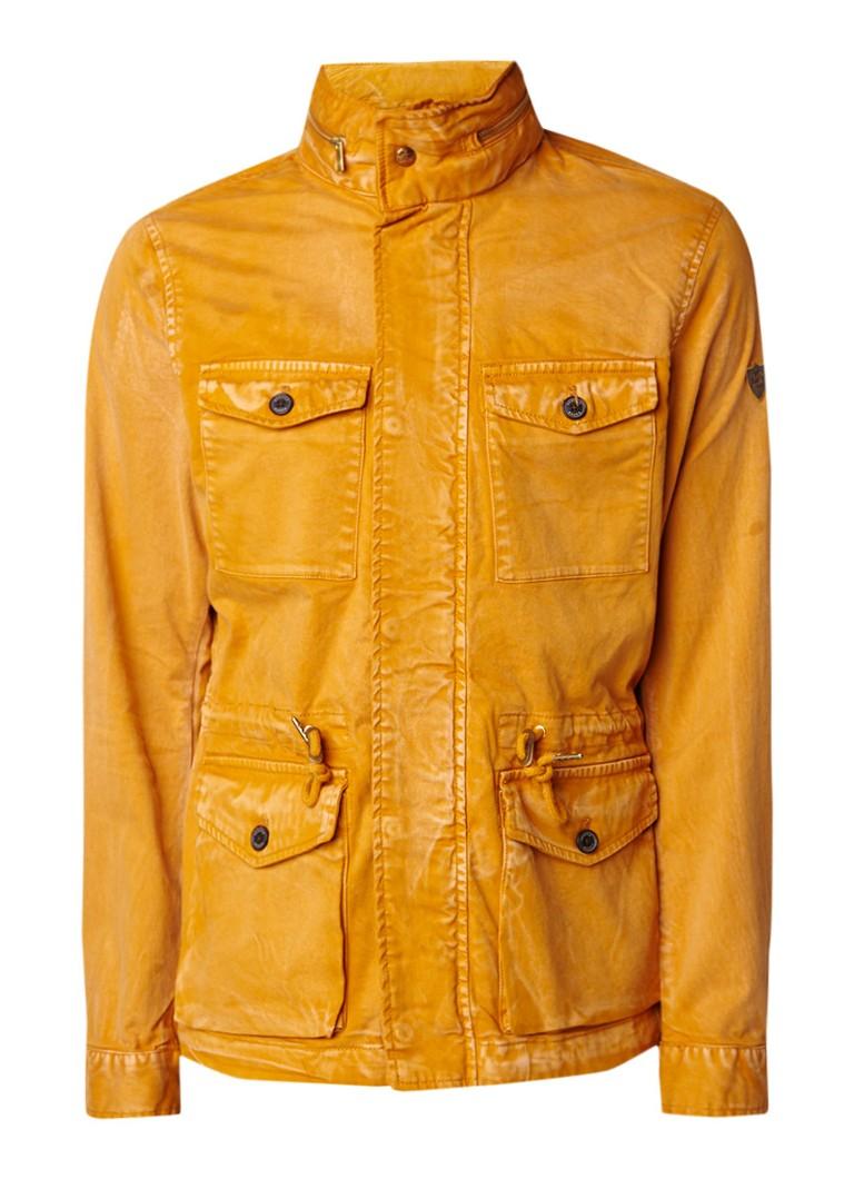 Scotch and Soda Field jacket met uitneembare capuchon