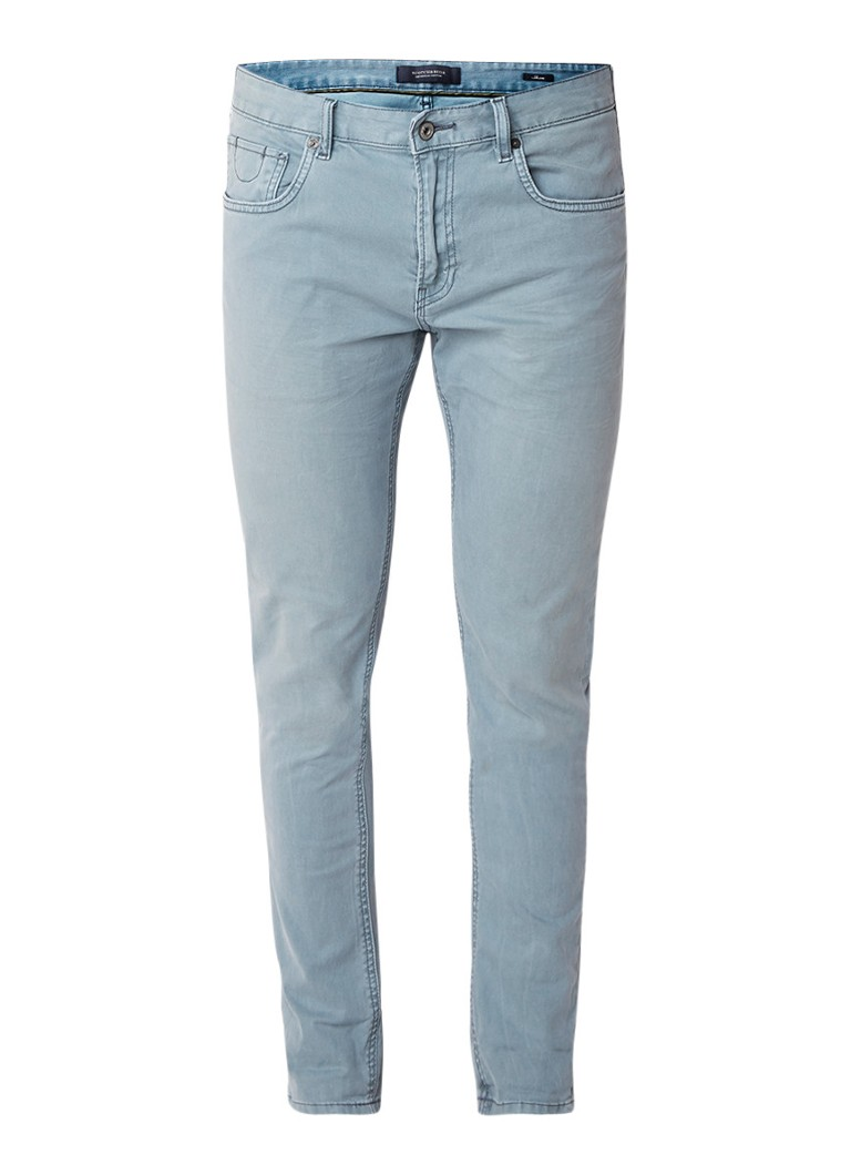 Scotch and Soda Skim classic fit 5-pocket jeans met stretch