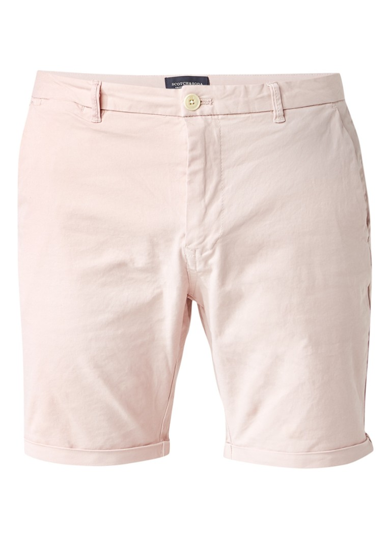 Scotch&Soda Slim fit shorts met