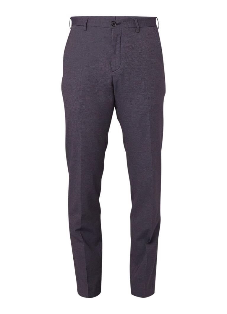 Image of Tommy Hilfiger Regular fit pantalon met micro ingeweven dessin