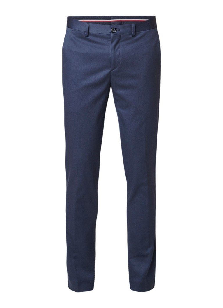 Tommy Hilfiger THFlex slim fit pantalon van katoen met stretch