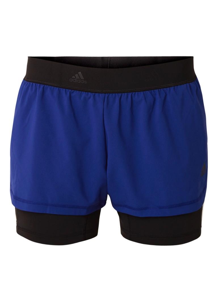 adidas 2-in-1 3-stripes runningshort