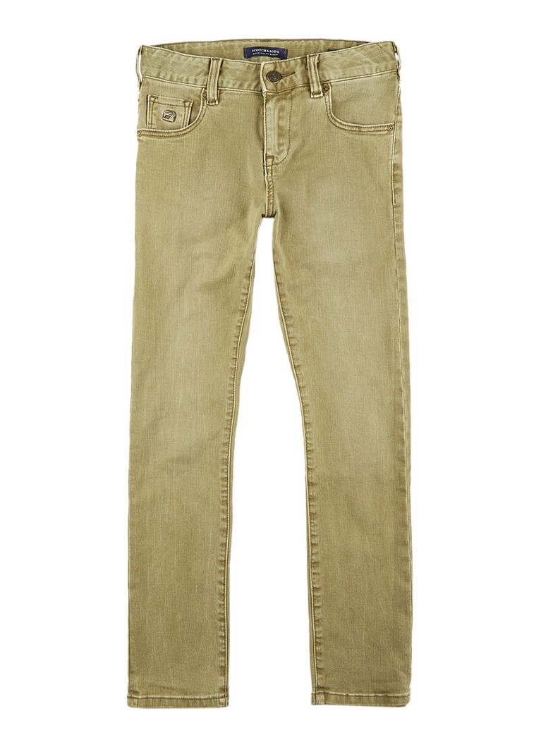 Scotch Shrunk Strummer skinny fit jeans met gekleurde wassing