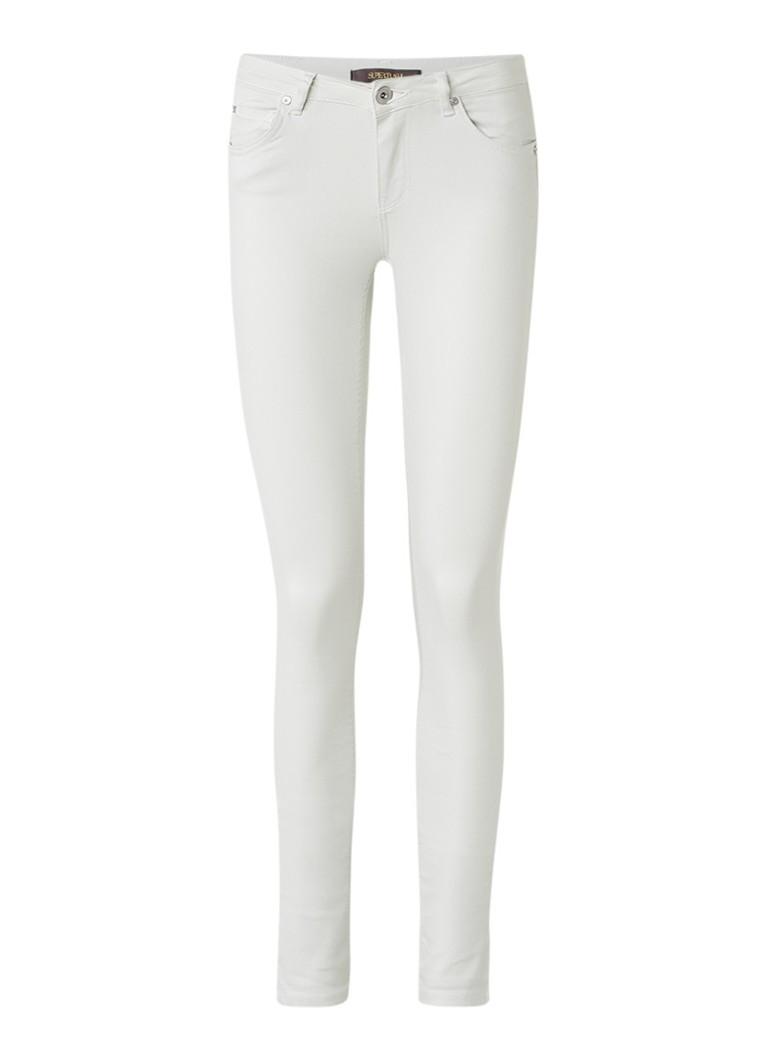SuperTrash Paradise mid rise skinny jeans met gekleurde wassing