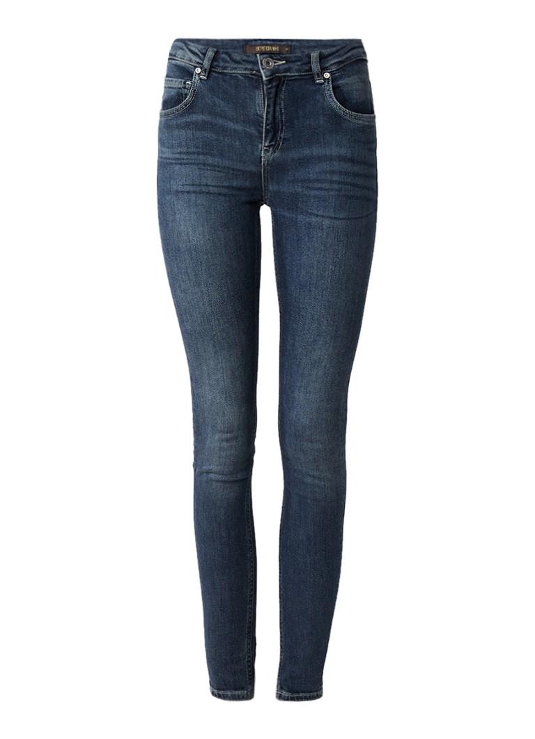SuperTrash Paradise slim fit cropped jeans azure blue