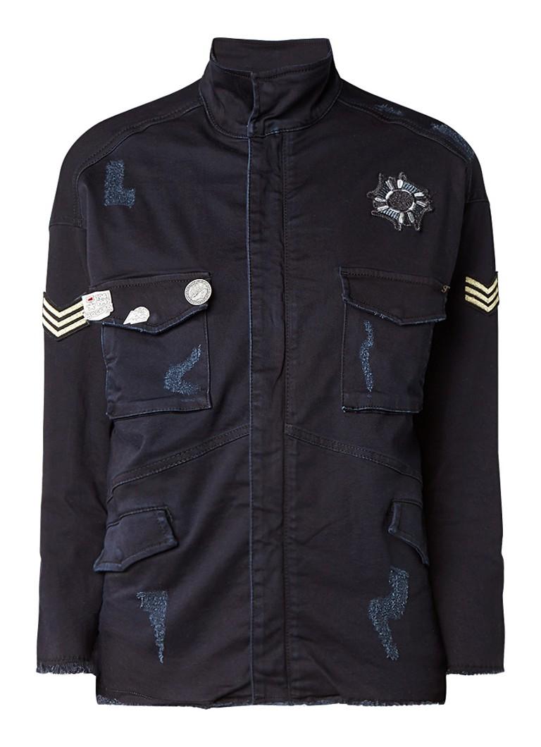 SuperTrash Jayden field jacket met army look