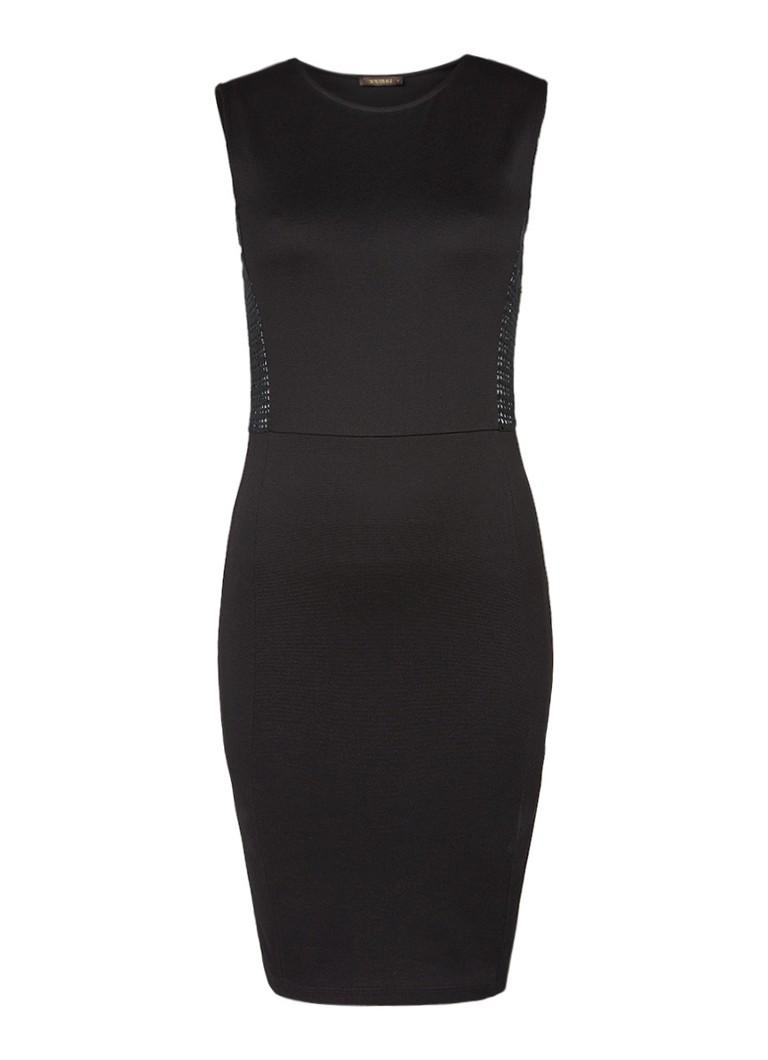 Supertrash Dynamic jurk met opengewerkte details van kant zwart