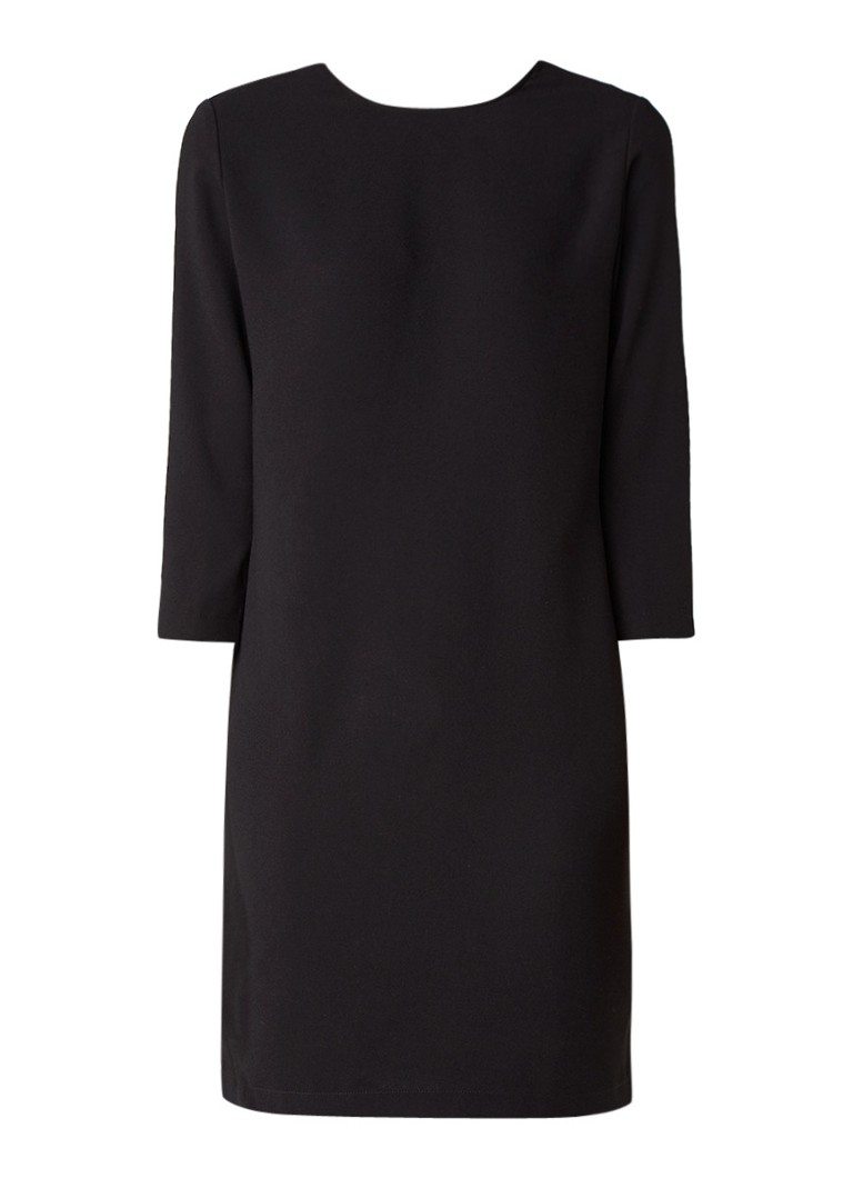 Supertrash Dazil jurk met gekruiste bandjes grijs