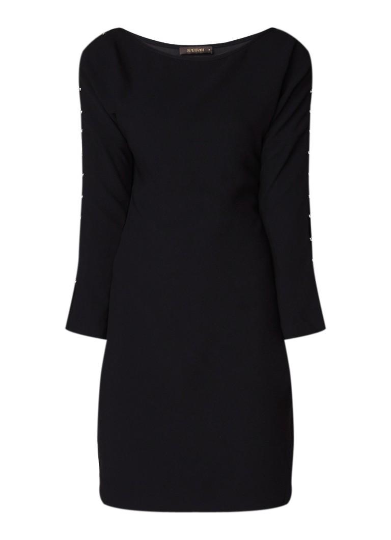 SuperTrash Dany jurk met opengewerkte mouw