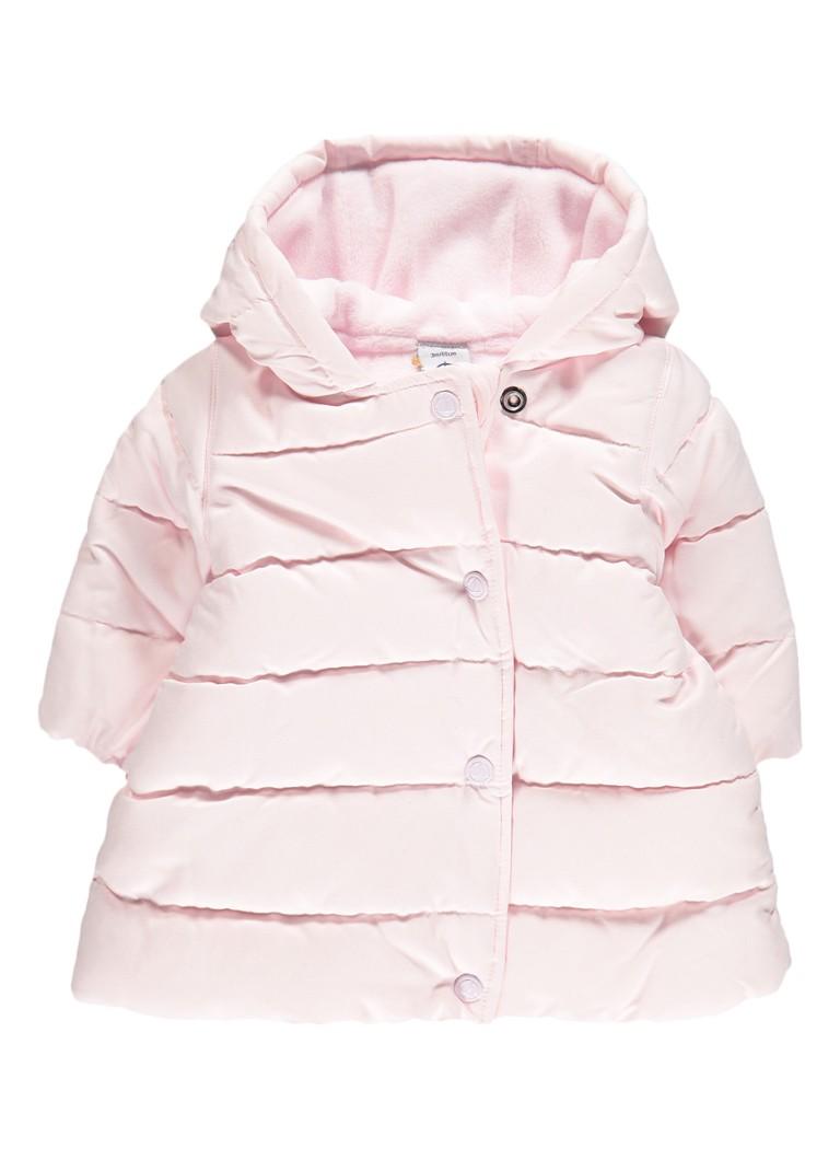 Petit Bateau Gewatteerde jas met