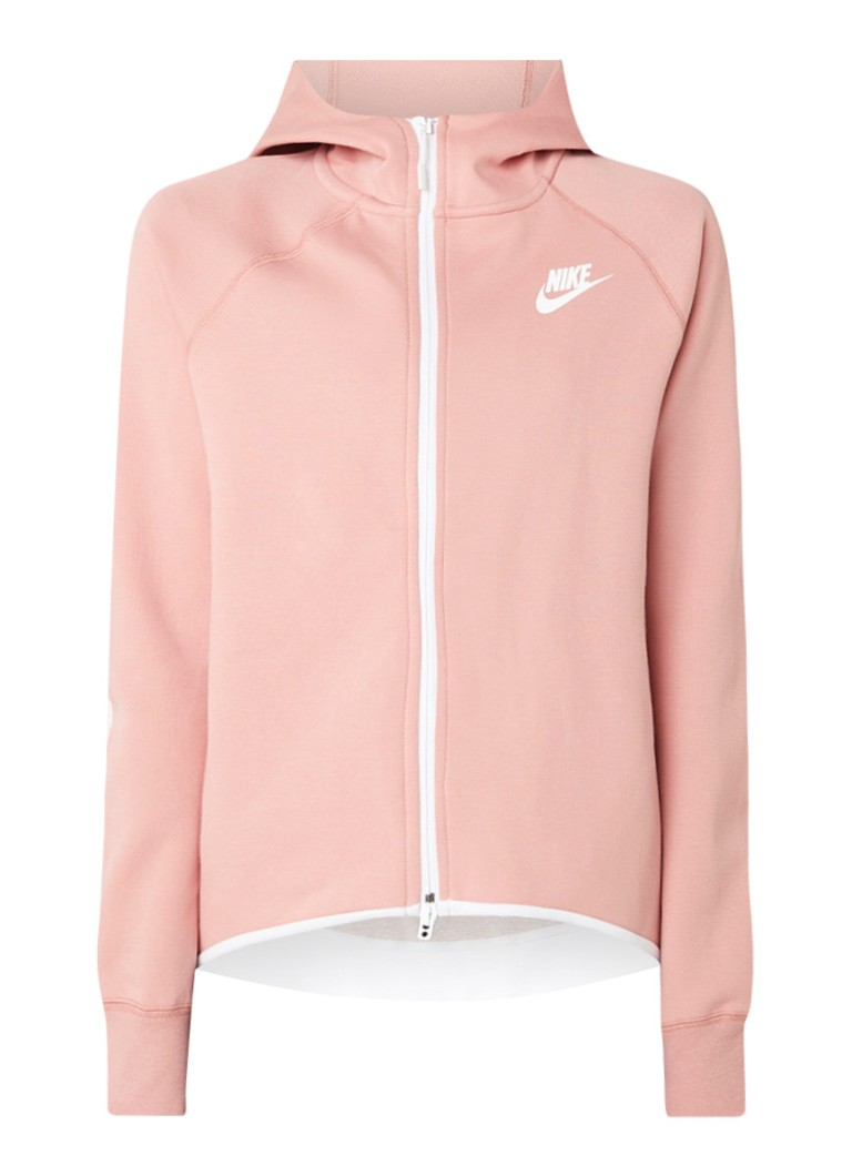 Nike Tech Fleece sweatvest met capuchon en ritszak