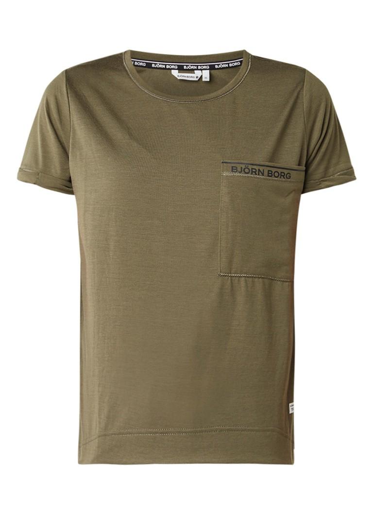 Björn Borg Dorey loose fit T-shirt met logoprint