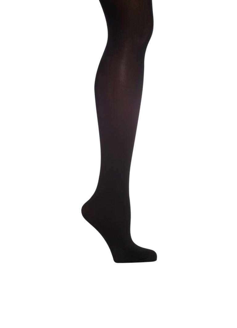 Sokken en panty s Falke Panty Pure Matt zwart  50 denier Zwart