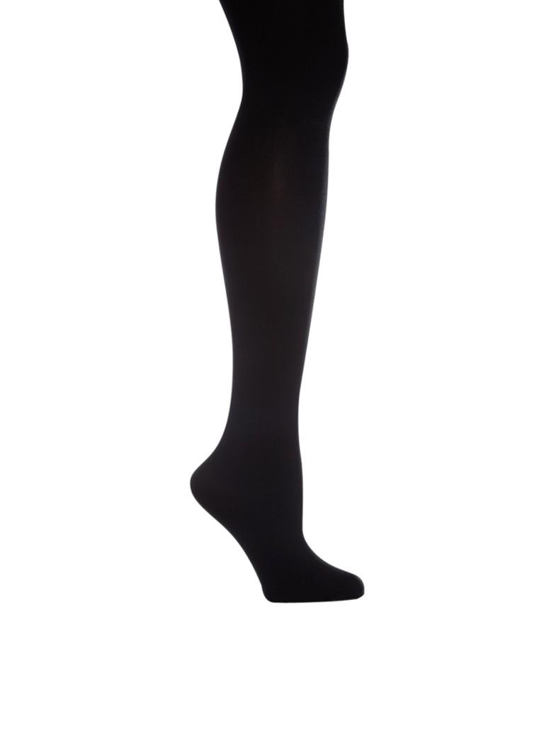 Falke Panty zwart met subtiele glans, 70 denier