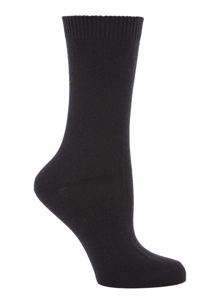 Falke Sokken Cosy Wool zwart