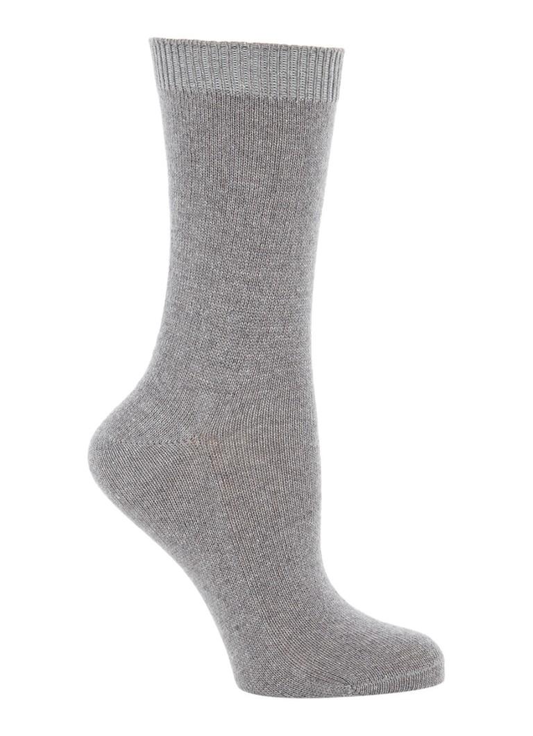Falke Sokken Cosy Wool grijs