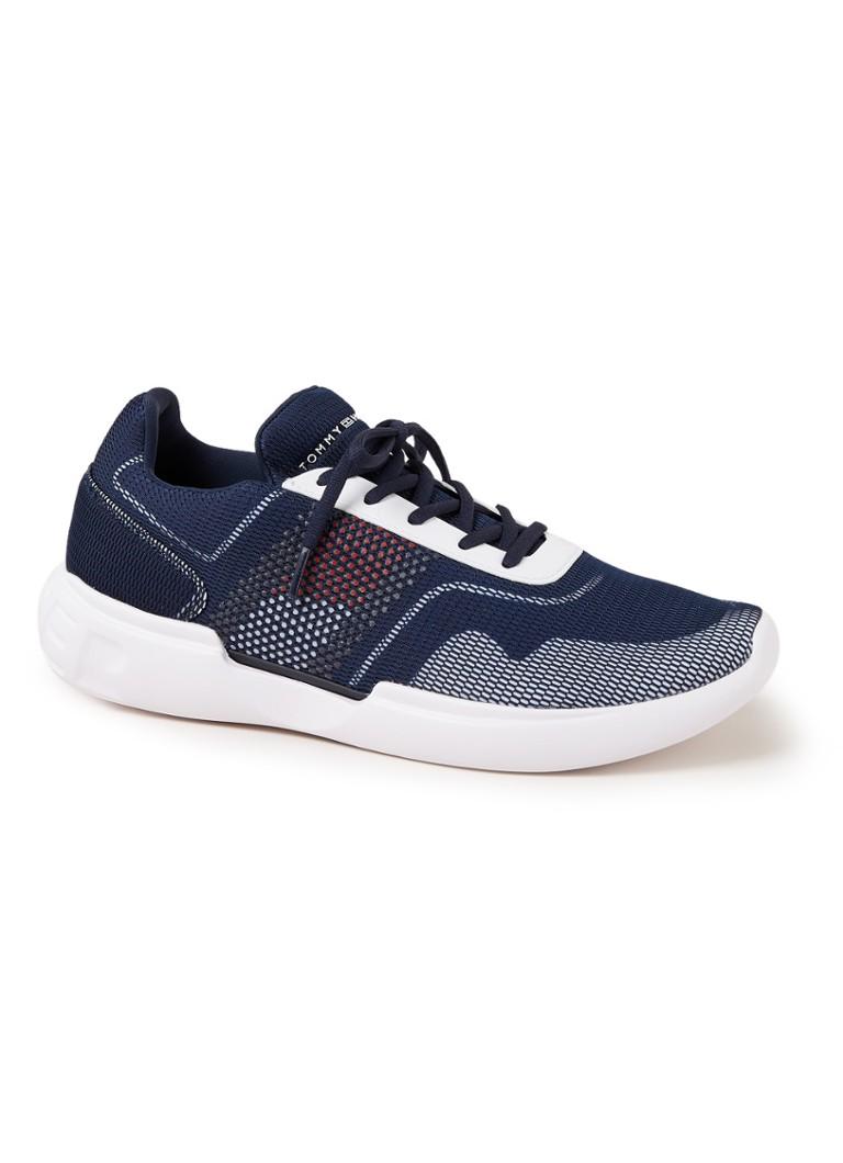 Tommy Hilfiger Corporate sneaker van mesh