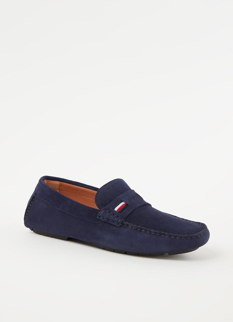 Tommy Hilfiger Iconic loafer van suède