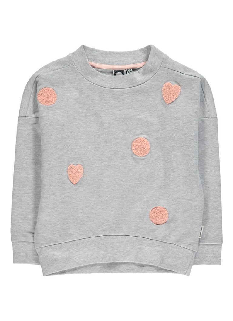 Tumble 'n Dry Danyelle sweater met flockprint