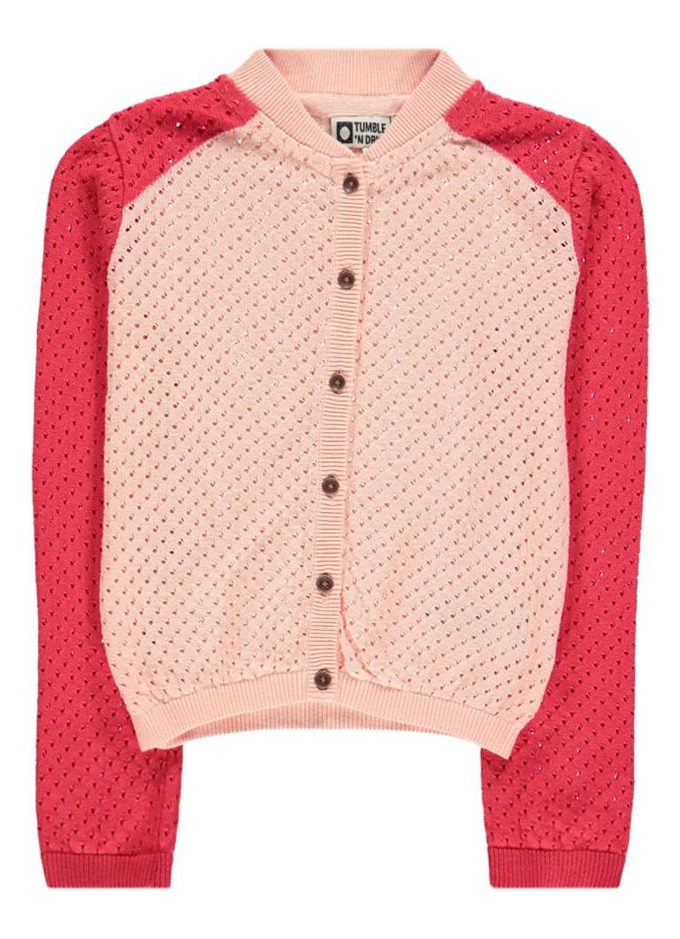 Tumble 'n Dry Daphyne vest met opengewerkte details