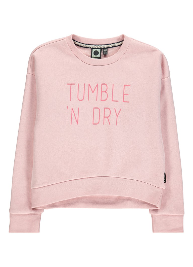 Tumble 'n Dry Edia sweater met logoprint