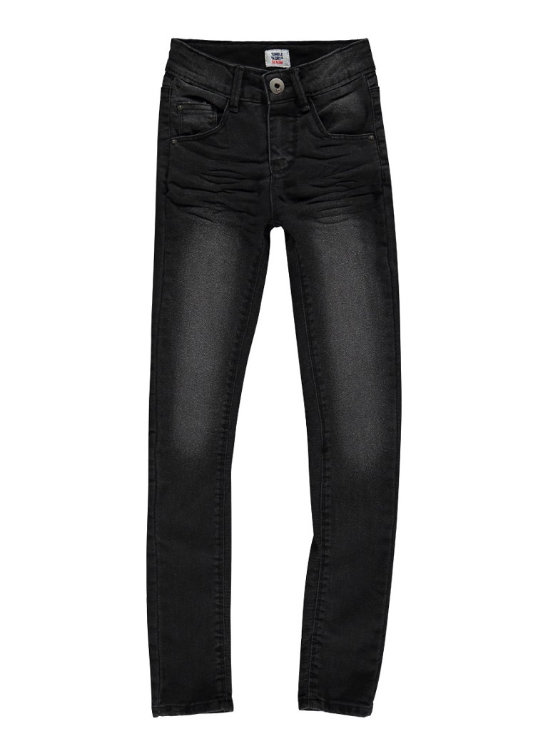Tumble 'n Dry Pearl skinny fit jeans met faded look