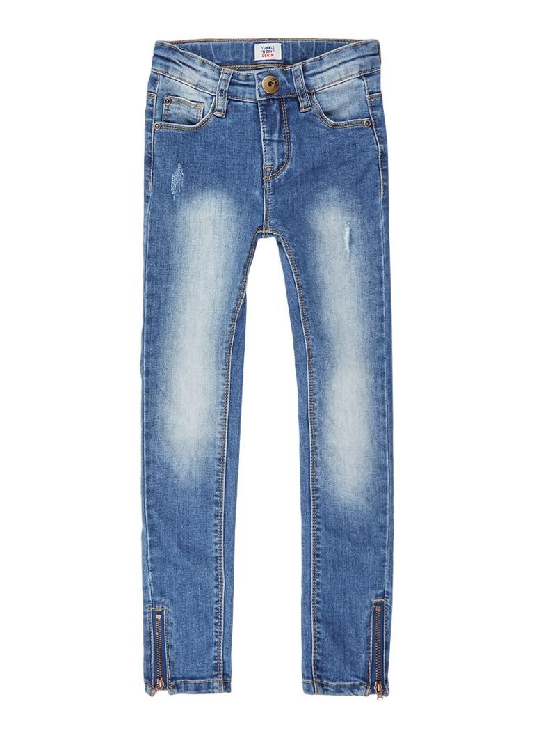Tumble 'n Dry Pearl extra skinny fit jeans met medium wassing