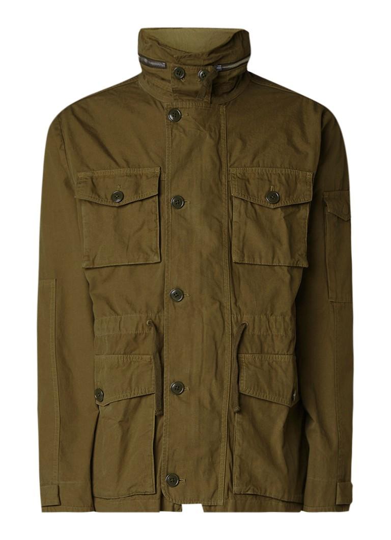 J Crew Field jacket met verborgen capuchon