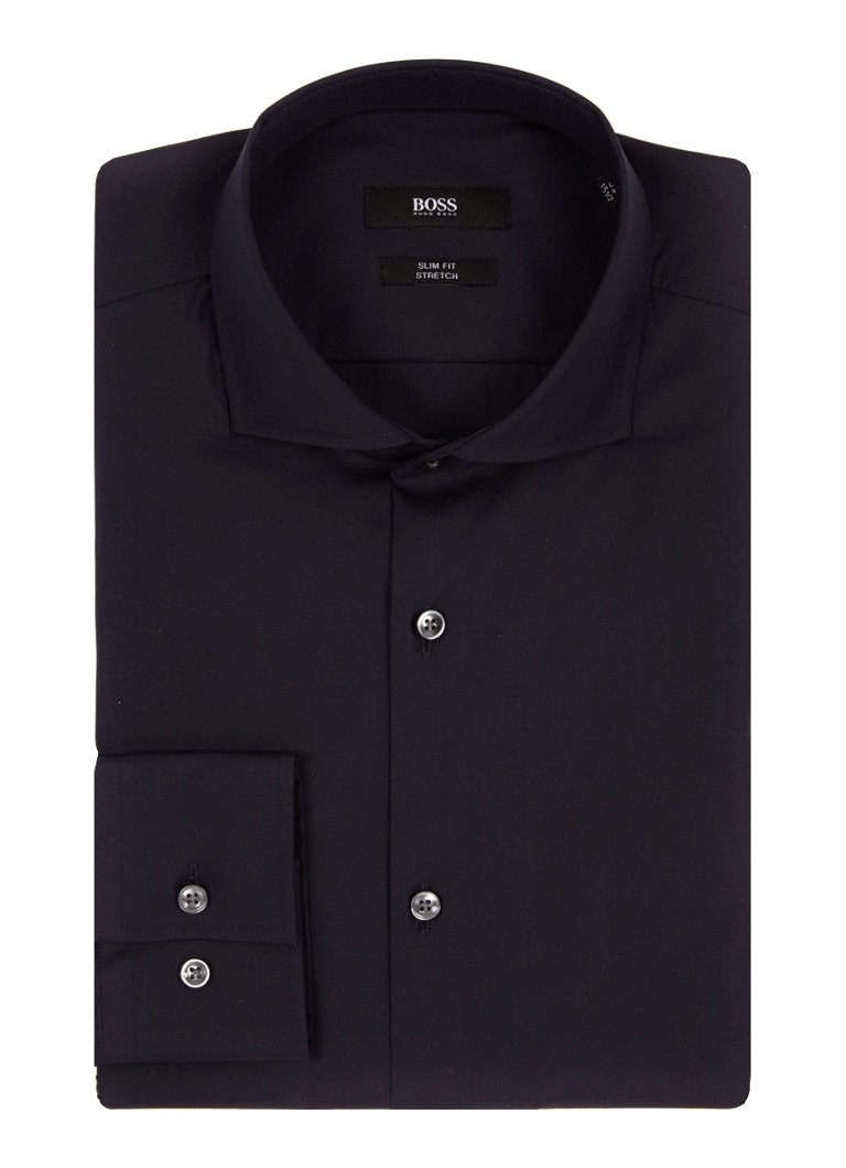HUGO BOSS Donkerblauw slim fit