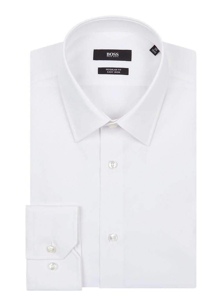 HUGO BOSS Enzo easy iron regular fit overhemd van katoen