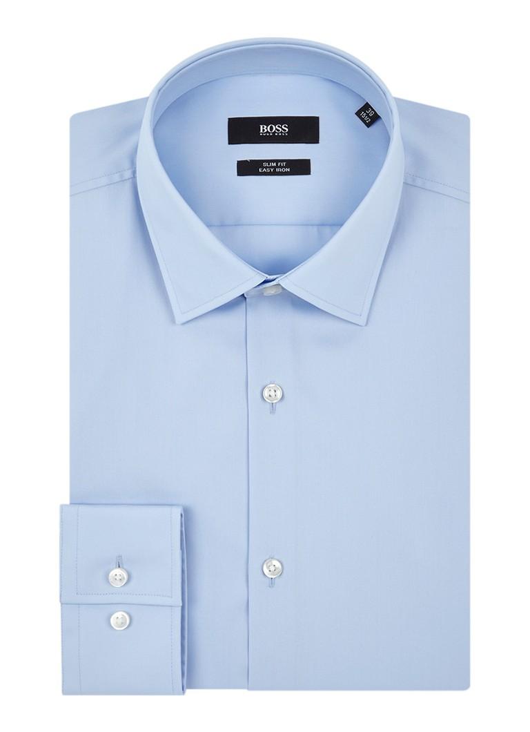 HUGO BOSS Jenno Slim fit easy iron overhemd