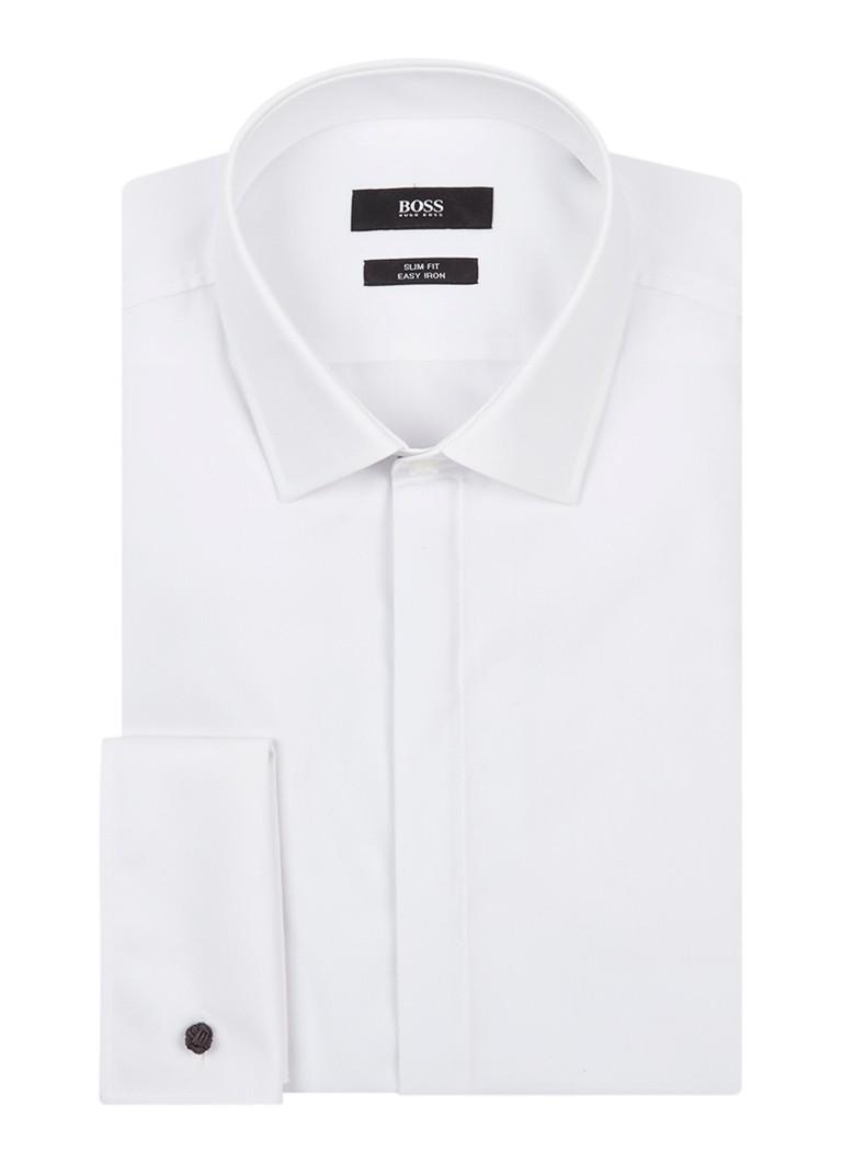 HUGO BOSS Jilias slim fit easy iron overhemd