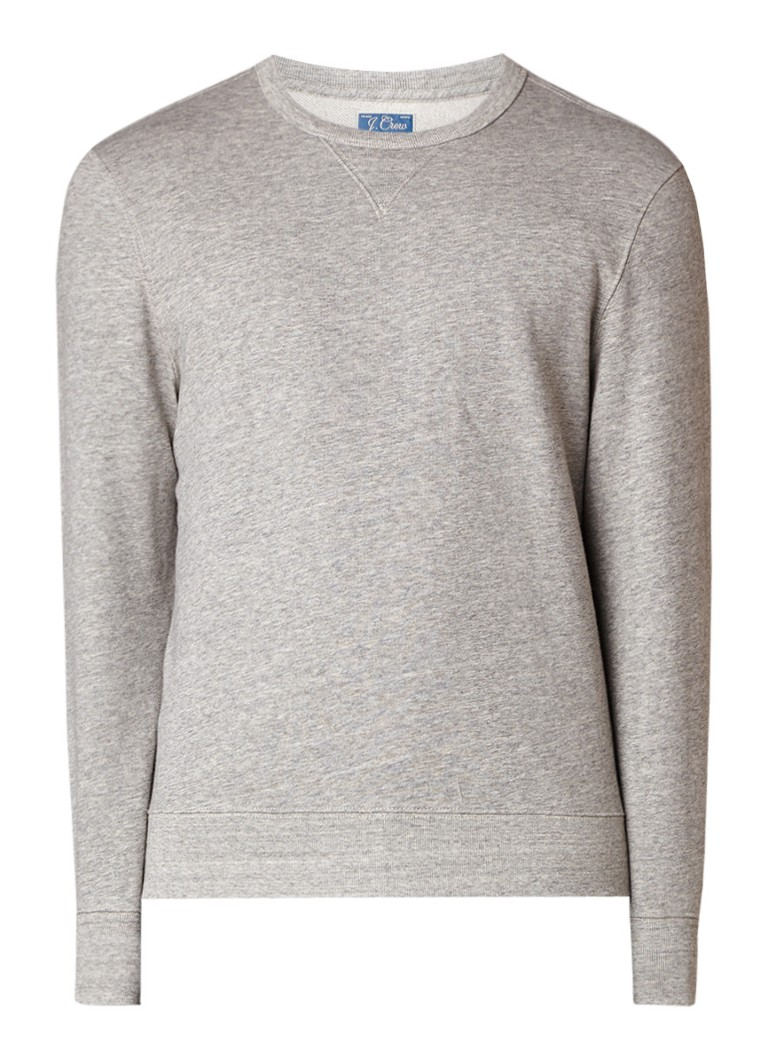 J Crew French Terry sweater van katoen